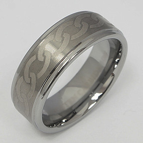 Men's Tungsten Wedding Band tung140-tungsten-wedding-band