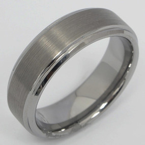 Men's Tungsten Wedding Band tung118-tungsten-wedding-band