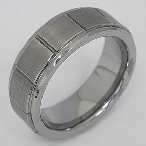 Men's Tungsten Wedding Band tung115-tungsten-wedding-band