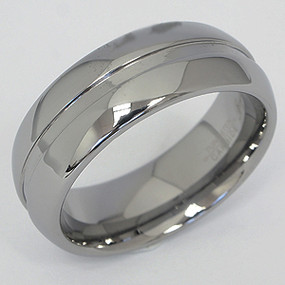 Men's Tungsten Wedding Band tung109-tungsten-wedding-band