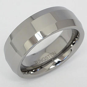 Men's Tungsten Wedding Band tung107-tungsten-wedding-band