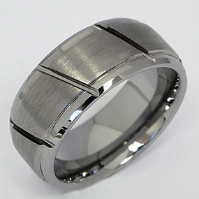 Men's Tungsten Wedding Band tung103-tungsten-wedding-band