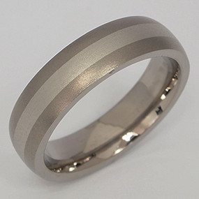 Men's Titanium Wedding Band tita123-titanium-wedding-band