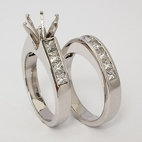 wedding set wedding-ring-set-120