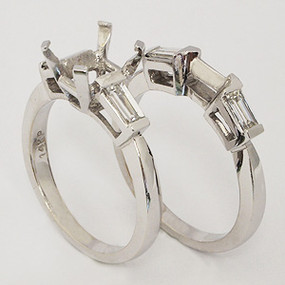 wedding set wedding-ring-set-105