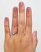 Antique design Engagement Ring When Worn