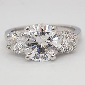 three stone engagement ring three-stone-engagement-ring-115