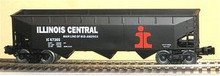 Weaver IC 3 bay offset hopper car, 3 rail or 2 rail