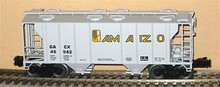 Weaver Amaizo 34' PS-2 covered hopper car, 3 rail or 2 rail