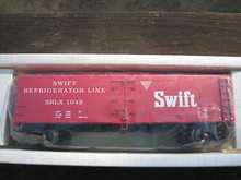 Crown (Weaver) Swift Refrigerator Line 40' Reefer, 3 rail or 2 rail