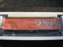 Crown (Weaver) Wilson Car Lines 40' Reefer, 3 rail or 2 rail