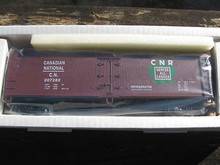 Crown (Weaver) Canadian National 40' Reefer, 3 rail or 2 rail