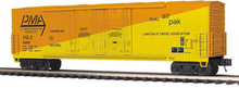 MTH Premier Plywood Marketing 50' Double Plug Door Box car, 3 rail