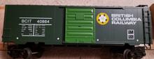 Weaver British Columbia 40' PS-1 box car, 3 rail or 2 rail