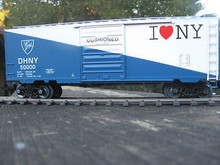 "Weaver D&H ""I Love NY"" 40' PS-1 box car, 3 rail or 2 rail"