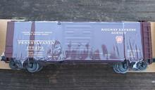 Weaver PRR REA 40' PS-1 express box car, 3 rail or 2 rail