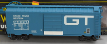 Weaver GTW (blue) 40' PS-1 box car, 3 rail or 2 rail