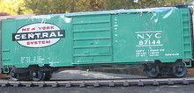 Weaver NYC (green) 40' PS-1 box car, 3 rail or 2 rail