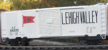 Weaver Lehigh Valley 40' PS-1 box car, 3 rail or 2 rail