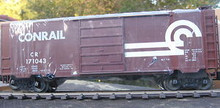Weaver Conrail (brown) 40' PS-1 box car, 3 rail or 2 rail