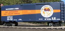 Weaver B&O TimeSaver Service 40' PS-1 box car, 3 rail or 2 rail