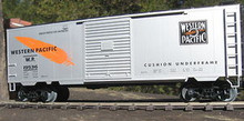 Weaver Western Pacific 40' PS-1 box car, 3 rail or 2 rail