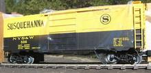Weaver NYS&W Susquehanna 40' PS-1 box car, 3 rail or 2 rail