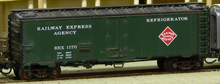 Weaver REA (Green) 40' Reefer, 3 or 2 rail