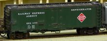 Weaver REA (Green) 40' Reefer, 3 or 2 rail