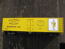 Weaver Colorado Midland 40' Reefer, 3 or 2 rail