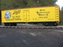Weaver Schlitz Beer 40' Reefer, 3 or 2 rail