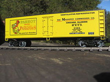 Weaver Parrot Potato 40' Reefer, 3 or 2 rail