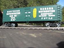 Crown (weaver) Weaver Banana Distributing Company 40' Reefer, 3 or 2 rail