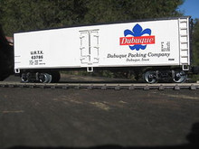 Weaver Dubuque Packing Company 40' Reefer, 3 or 2 rail