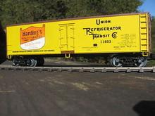 Weaver Harding's Butter 40' Reefer, 3 or 2 rail