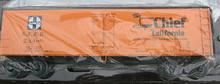 Weaver Santa Fe Super Chief 40' Reefer, 3 or 2 rail