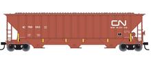 Atlas O CN PS4750  cov hopper, 3 rail or 2 rail