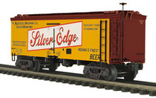 MTH Premier Muessel Brewing Co 36' wood reefer,  3 rail