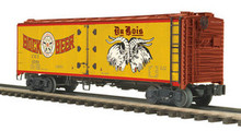 MTH Premier Du Bois Bewing Co Steel Reefer,  3 rail