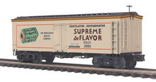 MTH Premier Merchant's Biscuit Co. 36' wood reefer,  3 rail