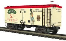 MTH Premier Heinz (Boy in Blue) 36' wood reefer,  3 rail