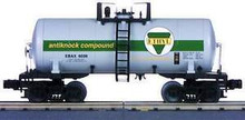 "MTH Ethyl Corporation 8k ""Beer Can"" Tank Car, 3 rail"