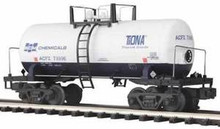 "MTH SCM Chemicals 8000 gallon ""Beer Can"" Tank Car, 3 rail"