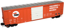 Atlas O PDT Exclusive P&W  50' ACF box car, 3 rail or 2 rail