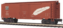 MTH Premier WP 40' Plug Door (bunkerless) Reefer, 3 rail