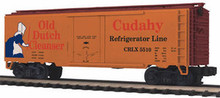 MTH Premier Old Dutch Cleanser 40' Plug Door (bunkerless) Reefer, 3 rail
