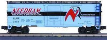 MTH Premier Needham Packing Company 40' Plug Door Reefer (bunkerless) 3 rail