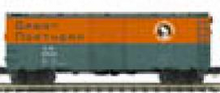 MTH Premier GN (empire builder) AAR 40'  steel Box car, 3 rail