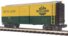 MTH Premier Rutland 40'  steel Box car, 3 rail