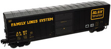 Atlas O AWP (Family Lines) 50' box car, 3 rail or 2 rail